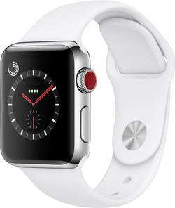 Apple Watch Series 3 Cellular 38 mm acier