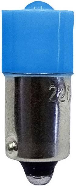 Barthelme Ampoule LED BA9s bleu 12 V/DC, 12 V/AC