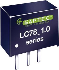 Convertisseur CC/CC pour circuits imprimés Gaptec LC78_12-1.0 10020082 24 V/DC 12 V/DC 1000 mA 12 W Nbr. de sorties: 1 x