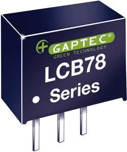Convertisseur CC/CC pour circuits imprimés Gaptec LCB78_05-0.5 10020533 24 V/DC 5 V/DC 500 mA 2.5 W Nbr. de sorties: 1 x