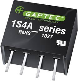 Convertisseur CC/CC pour circuits imprimés Gaptec 1S4A_0524S1.5U 10070383 5 V/DC 24 V/DC 42 mA 1 W Nbr. de sorties: 1 x