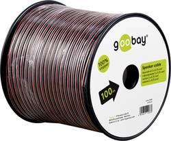Câble haut-parleur Goobay 15094 2 x 0.75 mm² rouge/noir 25 m