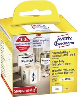 Avery-Zweckform Etiquettes (rouleau) 57 x 32 mm film blanc 4