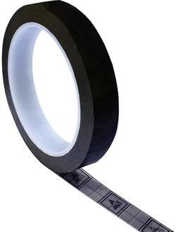 Ruban adhésif antistatique (ESD) TRU COMPONENTS TC-ESDT-BL1750-1S 1605260 noir (L x l) 50 m x 17 mm 50 m