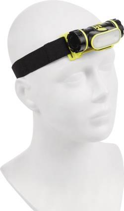 Lampe frontale LED Dörr Foto à batterie 108 g noir-jaune fluo