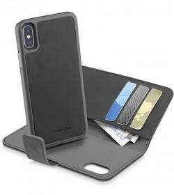 Coque arrière Cellularline COMBOIPH8K Adapté pour: Apple iPhone X, noir