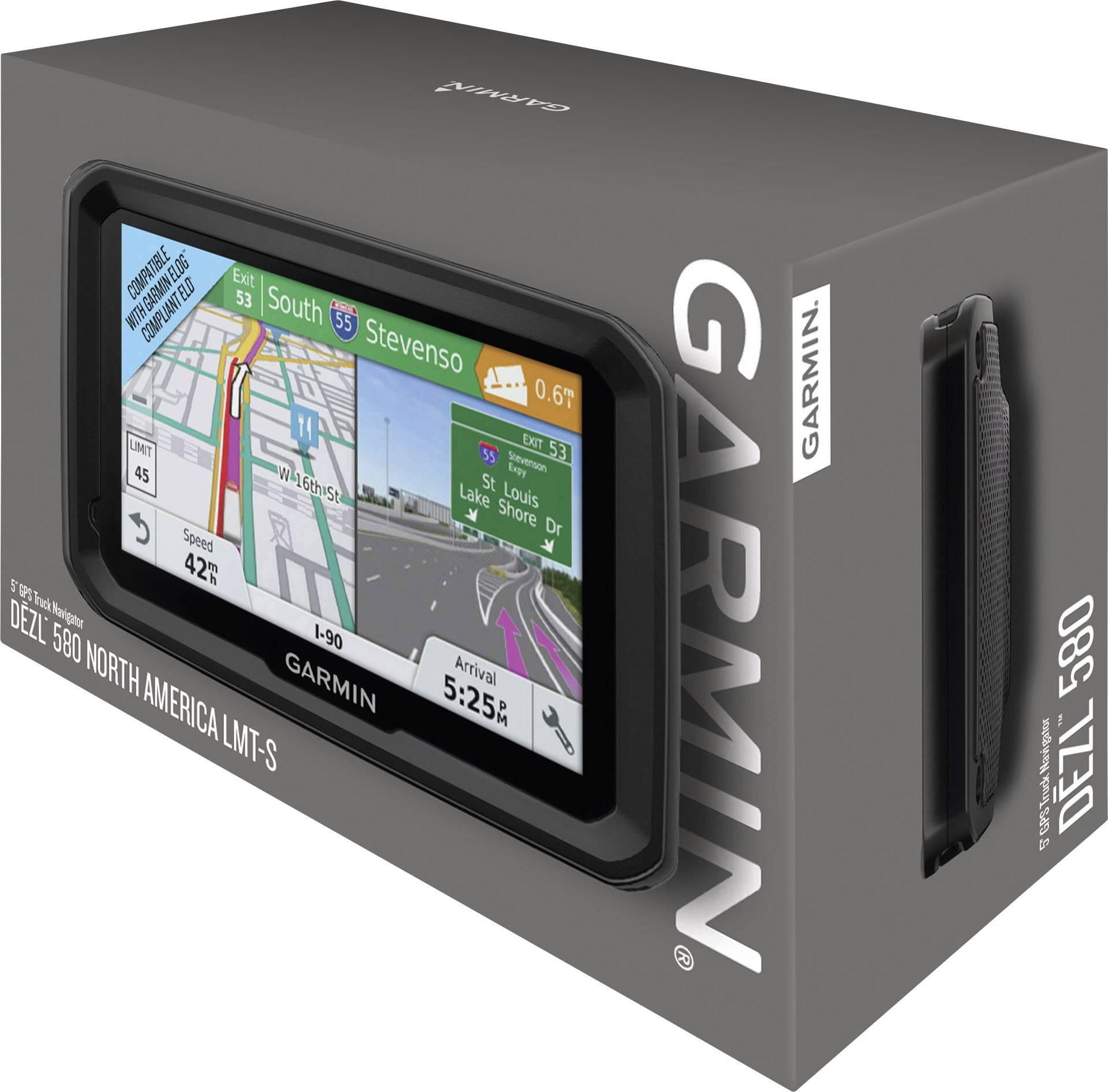 GPS pour poids lourd Garmin dezl 580 dezl 580