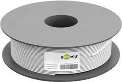 Goobay 27527 Câble coaxial Ø extérieur: 6.90 mm 75 Ω 110 dB blanc 100 m