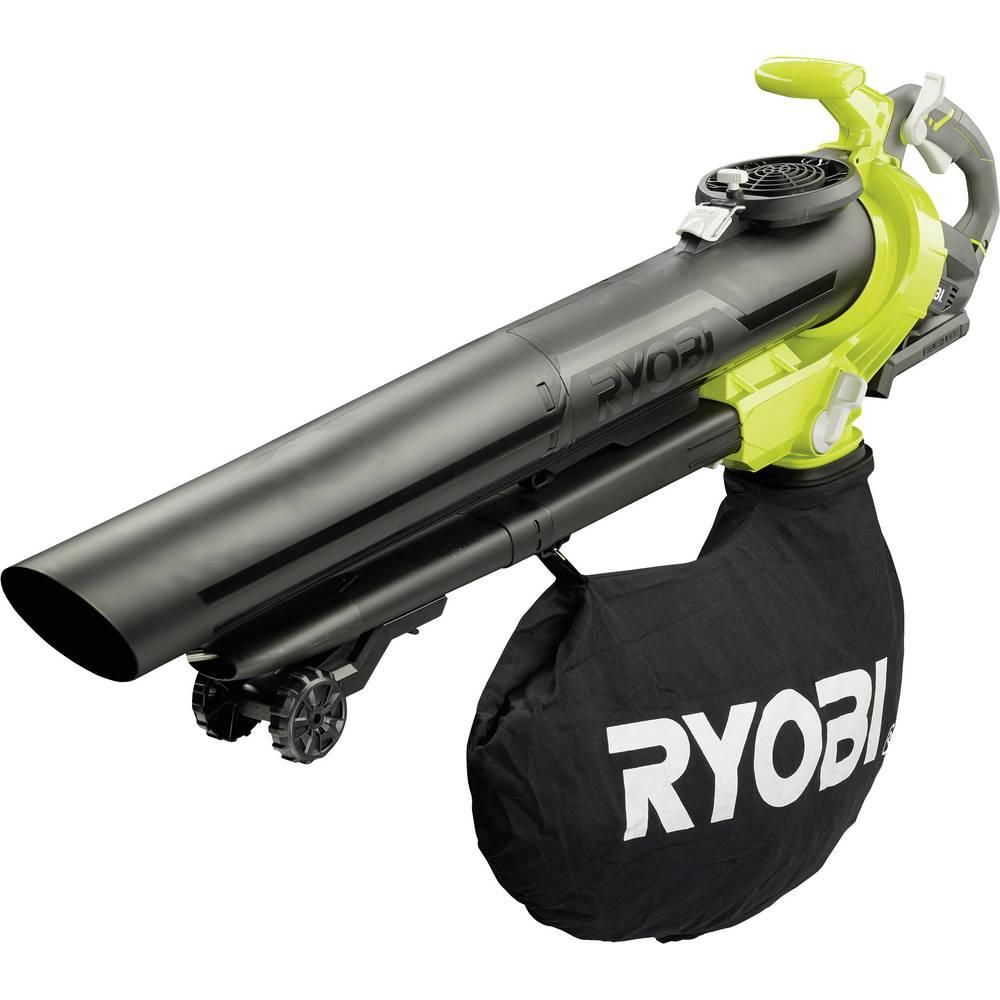 souffleur broyeur aspirateur sans fil ryobi rbv36b 36 v sur roulettes sans batterie. Black Bedroom Furniture Sets. Home Design Ideas