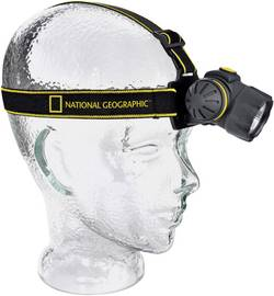 Lampe frontale LED National Geographic à pile(s) 74 g noir
