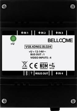 Bellcome VSB.4DN02.BLG04 Interphone vidéo filaire Boîtier répartiteur noir