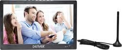 Téléviseur portable 10 pouces (25.6 cm) Denver LED-1031 fonctionnement sur batterie noir