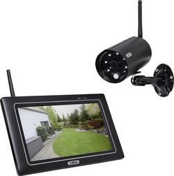 Set caméras de surveillance 4 canaux ABUS PPDF16000 avec 1 caméra 2.4 GHz 1 pièce