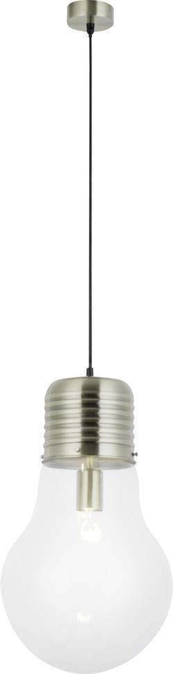 Suspension Brilliant Bulb E27 60 W laiton antique