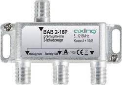 Dérivateur TV câble Axing BAB 2-16P 2x 5 - 1218 MHz