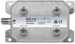 Dérivateur TV câble Axing BAB 4-02 4x 5 - 40 Mhz, 40 - 470 MHz,