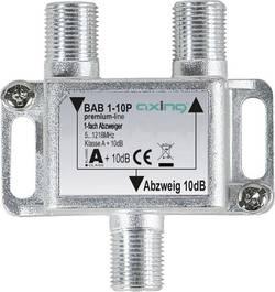 Dérivateur TV câble Axing BAB 1-10P 1x 5 - 1218 MHz