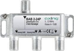 Dérivateur TV câble Axing BAB 2-24P 2x 5 - 1218 MHz