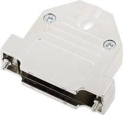 Capot SUB-D 25 pôles encitech DTNT25-M-K 1060-0105-03 plastique, métallisé 180 ° argent 1 pc(s)