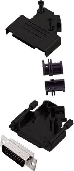 Kit SUB-D mâle mâle, droit 26 pôles encitech D45ZK15-BK-HDP26-K 6355-0104-02 45 ° fût à souder 1 pc(s)