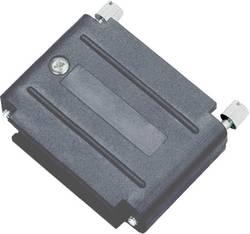 Boîtier adaptateur SUB-D 25 pôles encitech DAPK25-JS-K 6211-0100-33 matière plastique noir 1 pc(s)
