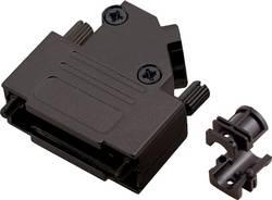 Capot SUB-D 15 pôles encitech D45ZK15-BK-K 6560-0116-12 tout en métal 45 ° noir 1 pc(s)
