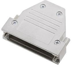 Capot SUB-D 25 pôles encitech DCRP25-K 1520-0301-03 tout en métal 180 °, 45 °, 45 ° argent 1 pc(s)
