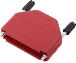 Capot SUB-D 25 pôles encitech DPPK25-R-K 6353-0103-03 matière plastique 180 ° rouge 1 pc(s)