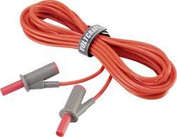 VOLTCRAFT MSB-501 Cordon de mesure de sécurité[Banane mâle 4 mm -Banane mâle 4 mm ] 5 m;rouge