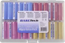 Pile LR06 (AA) alcaline(s) Basetech 1613313 2650 mAh 1.5 V 48 pc(s)