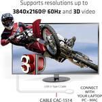 Câble Club 3D USB 3.1 type C St sur HDMI 2.0 UHD 1.8 m* - câble - numérique/données