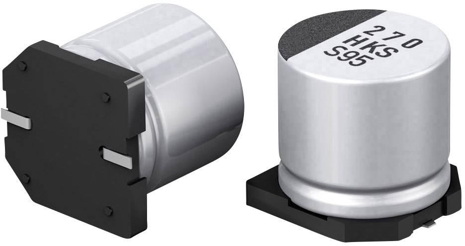 10 condensateurs CMS 470uF 10V Panasonic