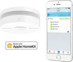 Eve home Eve home Smoke Détecteur de fumée sans fil Apple HomeKit
