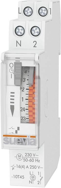 Interrupteur horaire pour rails Suevia SU400132 230 V/AC 1 NO (T) 16 A 250 V/AC 1 pièce