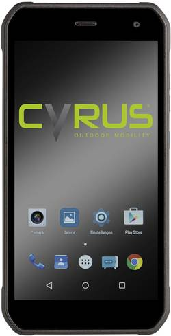 Cyrus CS40 slot hybride Smartphone 4G Outdoor 13.2 cm (5.2 pouce