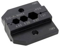 Matrice Neutrik DIE-R-BNCX-PDG noir 1 pc(s)
