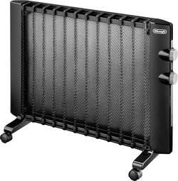 Radiateur radiant 750 W, 1500 W DeLonghi 0112404003 noir 45 m³
