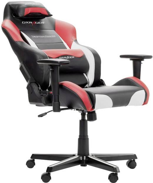 Fauteuil De Gaming Dxracer Drifting D61 Noir Blanc Rouge