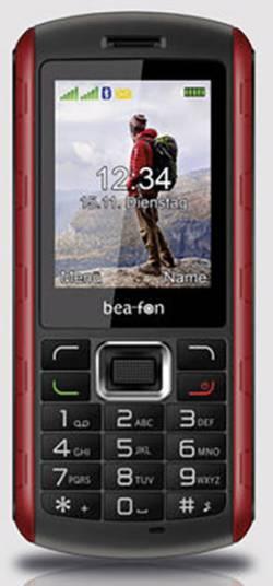 Téléphone portable outdoor 2.4 pouces beafon AL560 noir/rouge