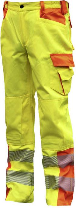 ELDEE 4760-50 Pantalon de travail YO-HiViz orange, jaune Taille: 50