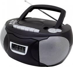 Radio-CD FM SoundMaster SCD 5750 noir fonction enregistrement, avec microphone