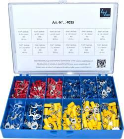 Assortiment de cosses à oeillet Vogt Verbindungstechnik 4035 0.50 mm² 6 mm² rouge, bleu, jaune 505 pc(s)