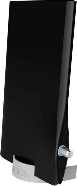 Antenne plate DVB-T/T2 active Funke DSC550 schwarz pour l'intérieur Ampl