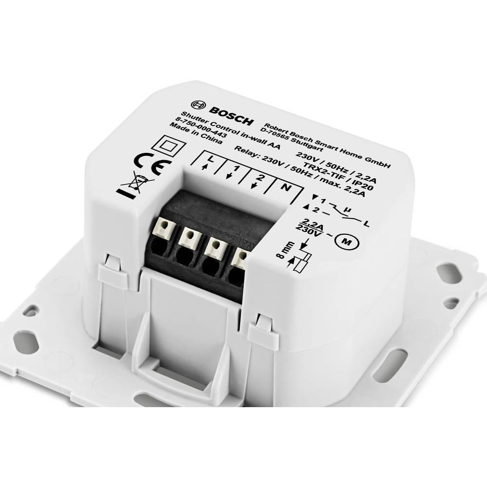 bosch smart home interrupteur pour volet roulant sans fil sur le