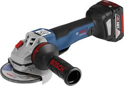 Meuleuse d'angle sans fil 125 mm + 2 batteries, + mallette Bosch Professional GWS 18V-125 PC 06019G3E01 18 V 5 Ah