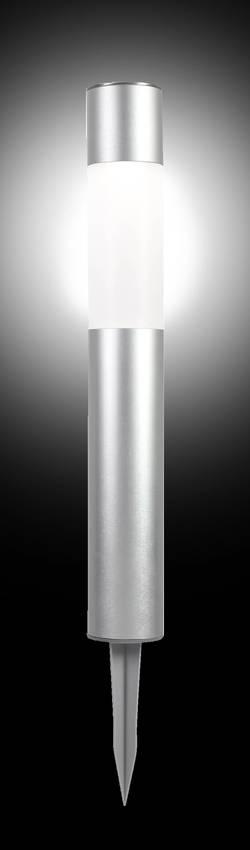 Lampe de jardin solaire Polarlite Basis 50 0.2 W argent 500 mm