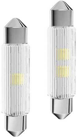 Signal Construct Ampoule navette LED S8.5 jaune 24 V/AC, 24 V/DC