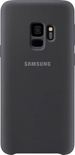 Coque arrière Samsung Silicone Cover Adapté pour: Samsung Galaxy S9 noir