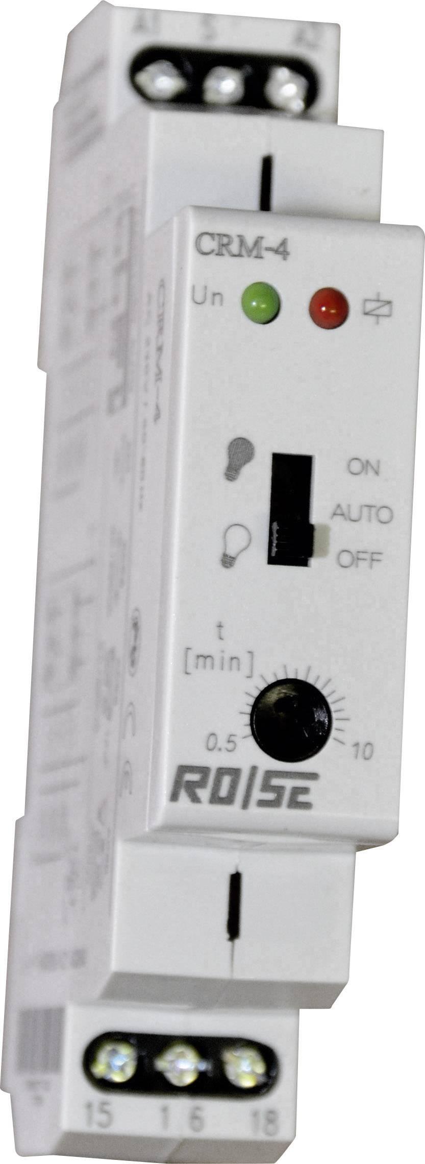 ROSE LM Relais temporis/é CRM-91H//230 CRM-91H//230 Multifonction 230 V//AC Plage temporelle 10 j 1 inverseur RT 0.1 s