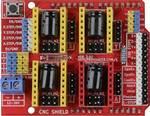 Carte de commande numérique par calculateur (CNC) avec 4 pilotes moteur A4988